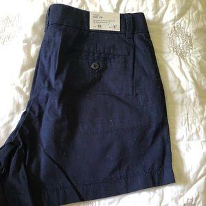 Jcrew Factory Chino Shorts - Size 10 - NWT